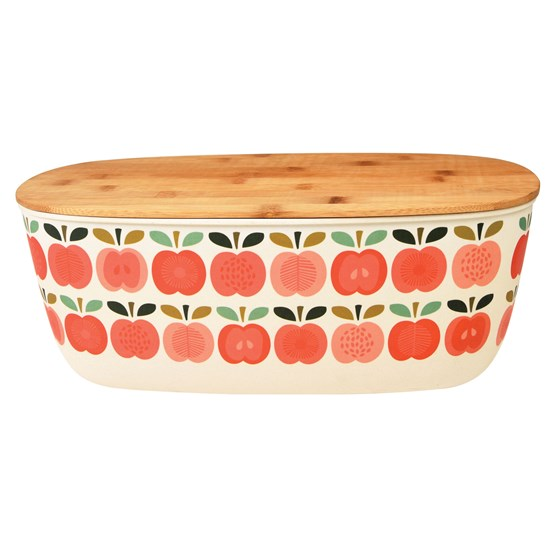 bambusfaser-brotbox vintage apple