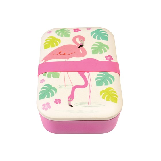 FLAMINGO BAY BAMBOO LUNCH BOX