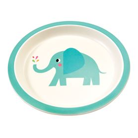 assiette en bambou elvis the elephant