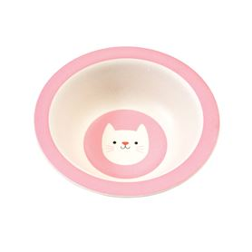 cookie the cat bamboo bowl