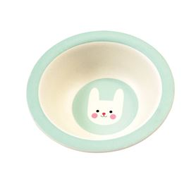 bonnie the bunny bamboo bowl