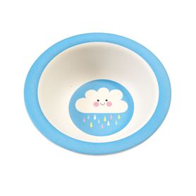 happy cloud bamboo bowl