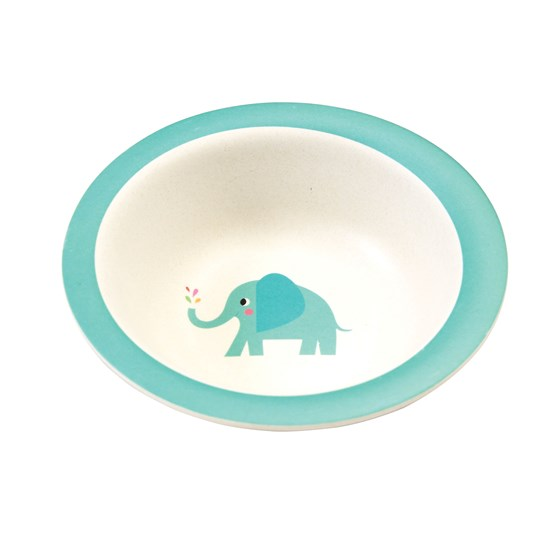 elvis the elephant bamboo bowl