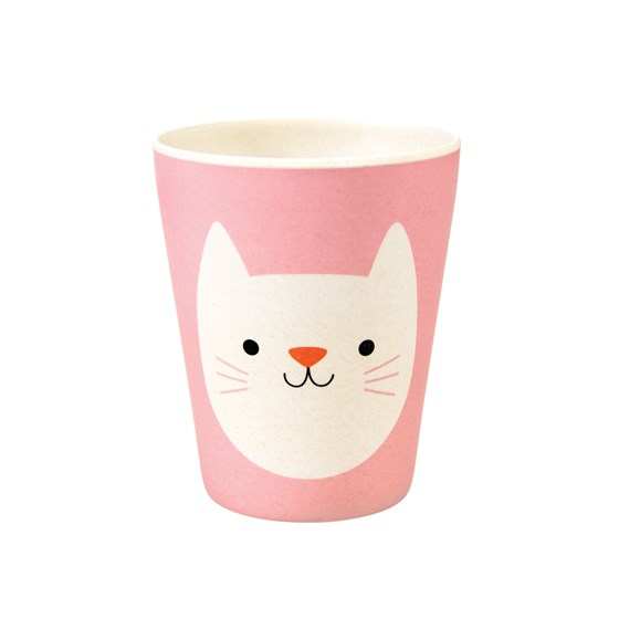 COOKIE THE CAT BAMBOO BEAKER