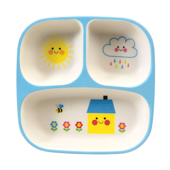 HAPPY CLOUD BABY FOOD TRAY