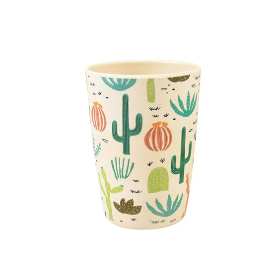 DESERT IN BLOOM BAMBOO BEAKER