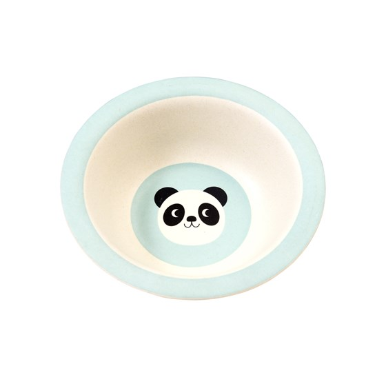 MIKO THE PANDA BAMBOO BOWL