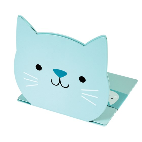 cookie the cat bookends (set of 2)
