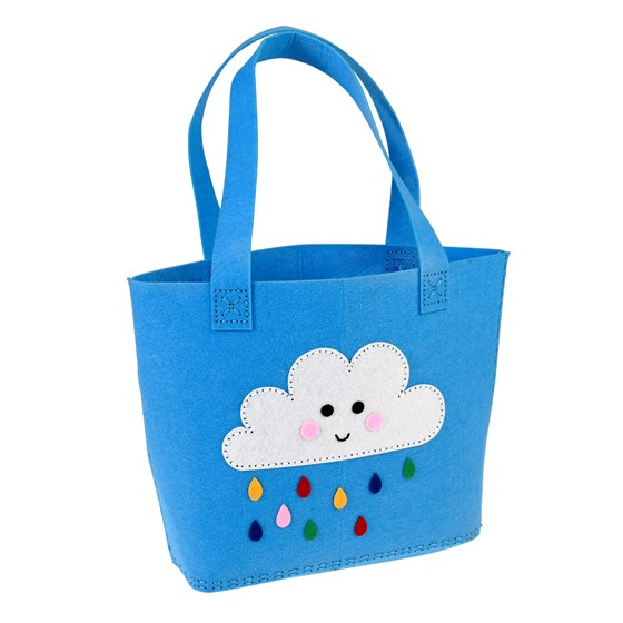 nähset happy cloud - tasche