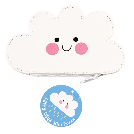 HAPPY CLOUD VINYL PURSE