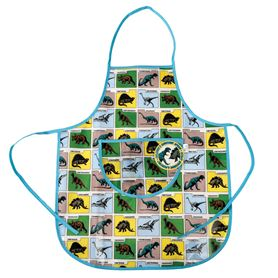 prehistoric land children's apron