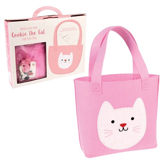 kit sac feutrine cookie the cat