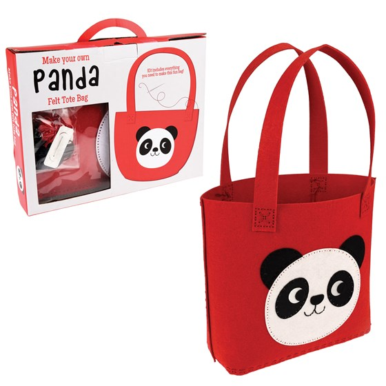 SEW YOUR OWN MIKO THE PANDA TOTE BAG