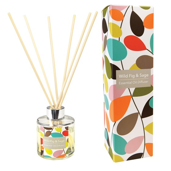 VINTAGE IVY REED DIFFUSER WILD FIG AND SAGE SCENT.
