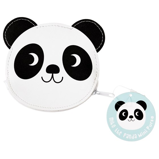 miko the panda vinyl purse