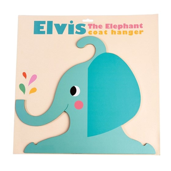 ELVIS THE ELEPHANT CLOTHES HANGER