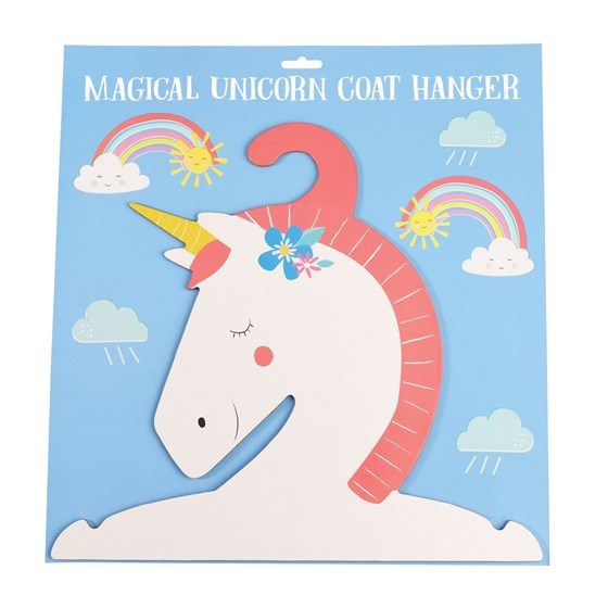 the magical unicorn clothes hanger