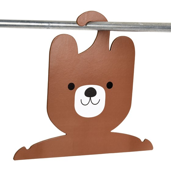 bruno the bear clothes hanger