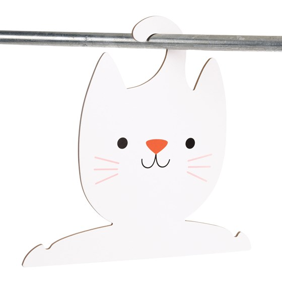 cookie the cat clothes hanger