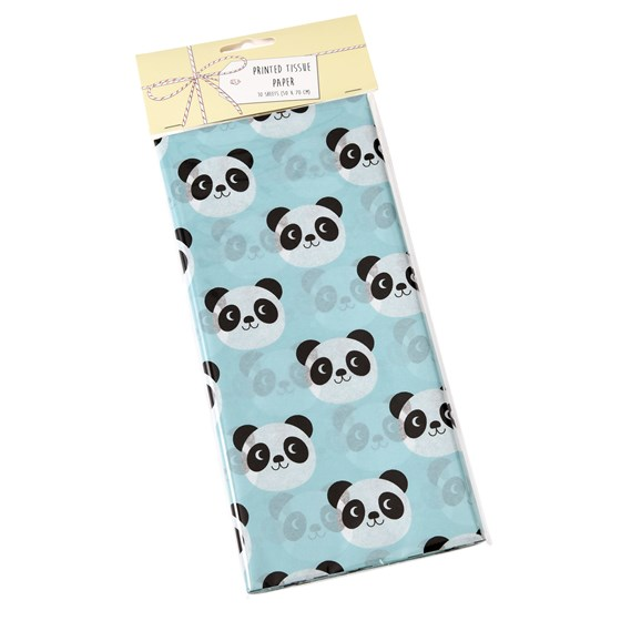 MIKO THE PANDA TISSUE PAPER (10 SHEETS)