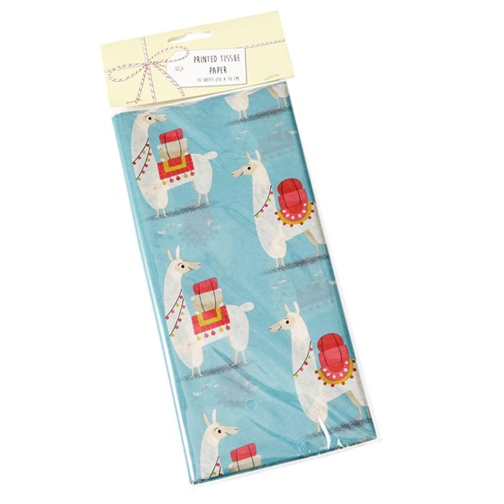 DOLLY LLAMA TISSUE PAPER (10 SHEETS)