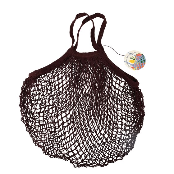 CHOCOLATE FRENCH STYLE NET BAG