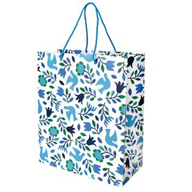 large folk doves gift bag