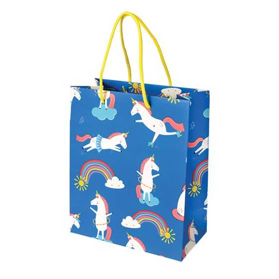 small magical unicorn gift bag