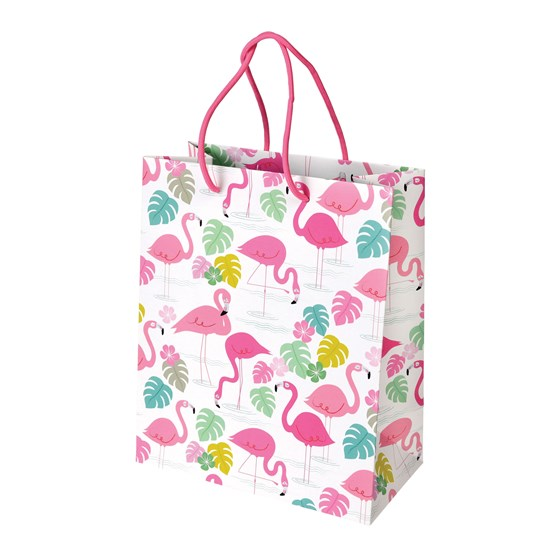small flamingo bay gift bag
