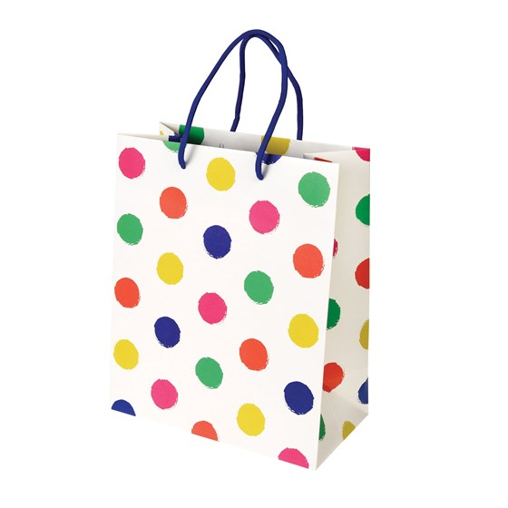 SMALL PARTY SPOTS GIFT BAG