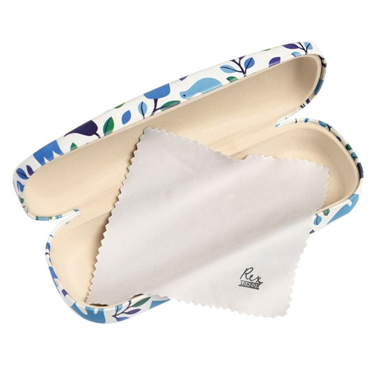 folk doves glasses case and cloth