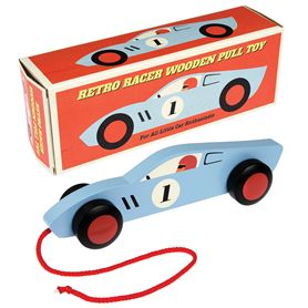 retro racer pull toy