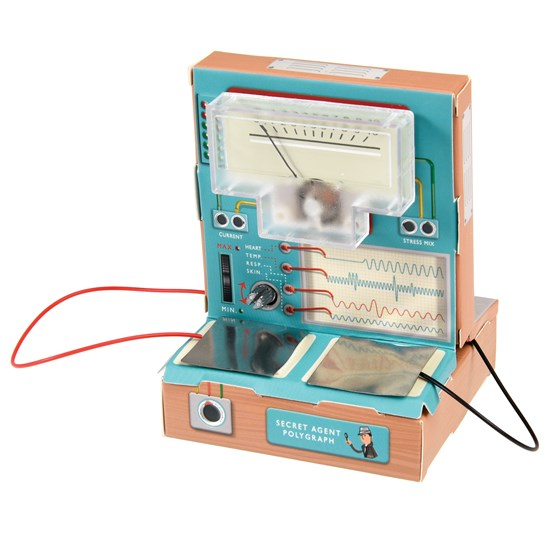 SECRET AGENT LIE DETECTOR KIT