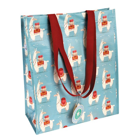 dolly llama shopping bag