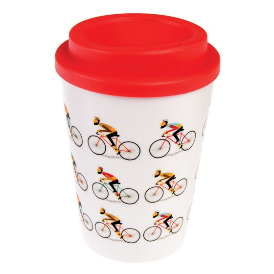 LE BICYCLE REUSABLE TRAVEL MUG