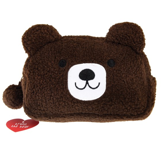 bruno the bear make up bag