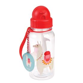 dolly llama kids water bottle