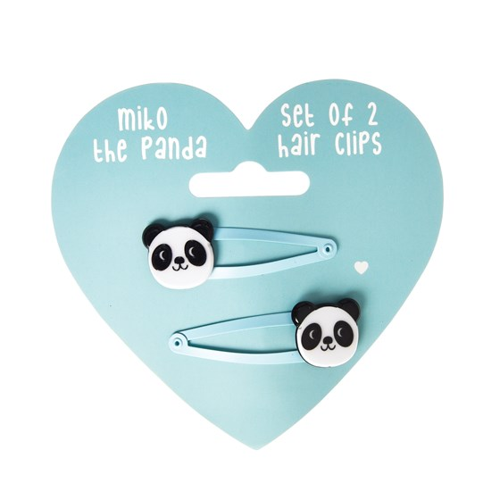 MIKO THE PANDA HAIRCLIPS (SET OF 2)