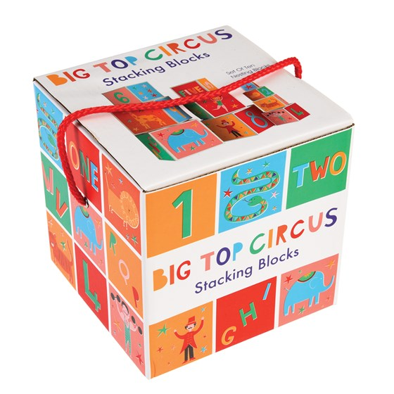 BIG TOP CIRCUS NESTING BLOCKS (SET OF 10)