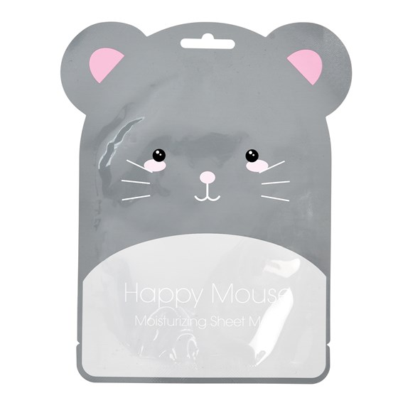 happy mouse moisturising face mask