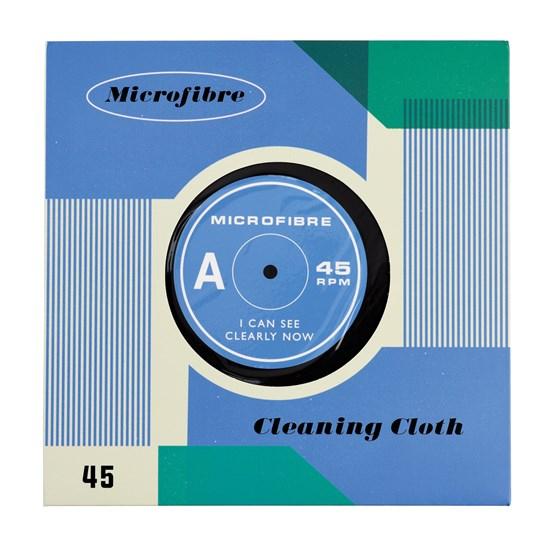 "record ""i can see clearly now"" microfibre cloth"