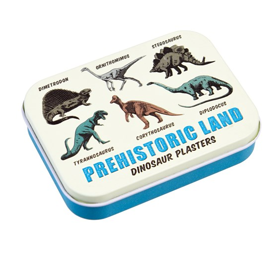 prehistoric land plasters in a tin (pack of 30)