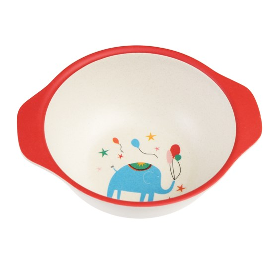 SMALL BIG TOP CIRCUS BAMBOO BOWL