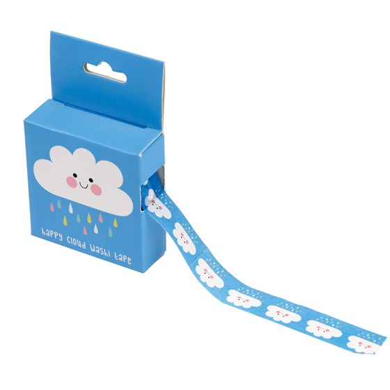 happy cloud washi tape