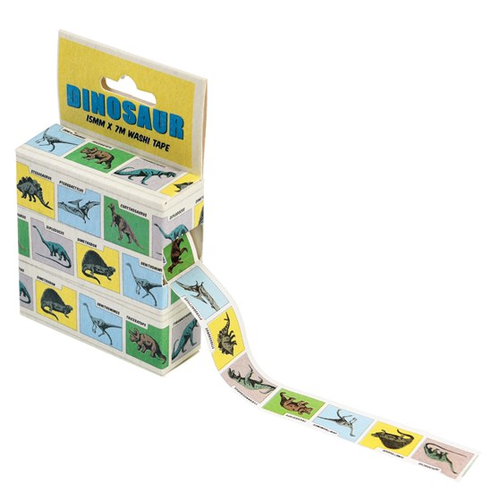 prehistoric land washi tape