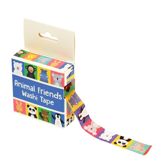 ANIMAL FRIENDS WASHI TAPE
