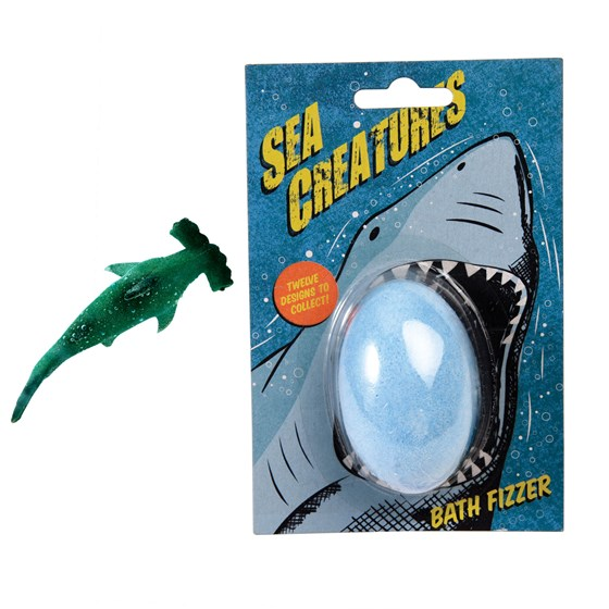 sea creatures bath fizzer