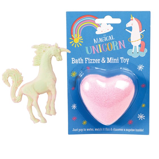 magical unicorn bath fizzer