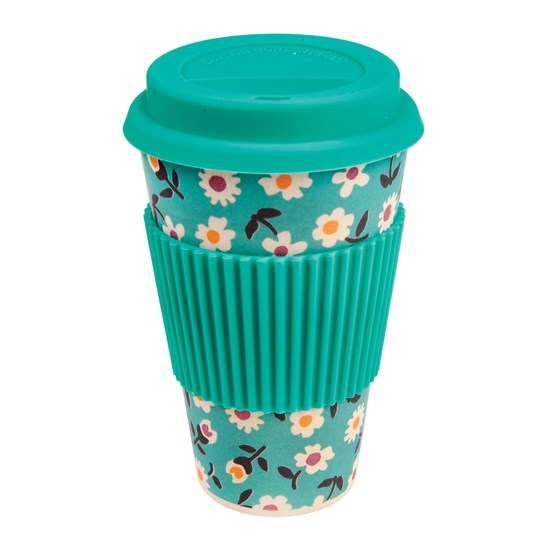 coffee to go - becher aus bambusfasern daisy