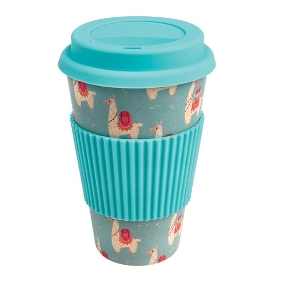 coffee to go - becher aus bambusfasern dolly llama